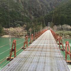 サイクリング/ツーリング/ドライブ/フォロー大歓迎/風景/おでかけ/... 自転車、バイクに乗って渡れます。上瀞橋は…