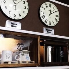 コーヒードリッパー/コーヒーミル/柿の木坂コーヒー/ステンシル/DIY/雑貨/... コーヒーコーナー^ ^