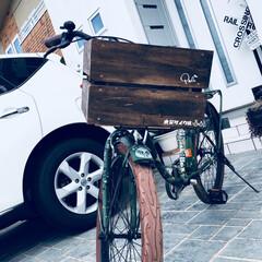 自転車/リメイク/ミンネ/ステッカー/DIY/ハンドメイド 久々のDIY^ ^ 引き出しをリメイクし…