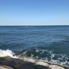 海/散歩 今日のお散歩🐶 ☀️天気も良くて、暖かく…