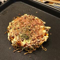 掃除/焼きそば/お好み焼き/もんじゃ焼き/鉄板焼/夕飯/... 今日の夕飯はもんじゃ焼きとお好み焼きと焼…