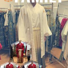 成人式/衣装/袴 来年!成人式を迎える息子っち😊 衣装合わ…