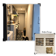 アクセサリー収納/掃除/100均/キッチン/玄関 昨日、息子のアパート2ヶ月に1度の掃除し…
