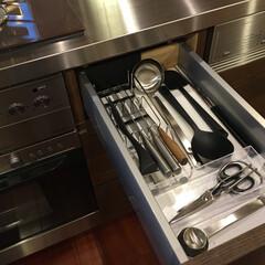 キッチンツール/キッチン収納/キッチン雑貨/整理収納/台所収納/家事効率/... もっとも良く使う頻度の高いキッチンツール…