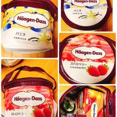 ハーゲンダッツのクーラーBOX/ハーゲンダッツ これ見つけた〜♪( ´▽`)  ハーゲン…(3枚目)