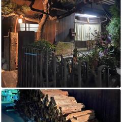 チワワ/オヤツ/空🐶/因島/薪で炊いてるお風呂屋 因島で夜のお散歩🐶🎶  薪で炊いてるお風…