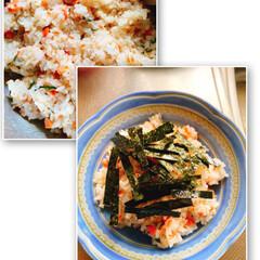 ガンダムDVD/鮭と大葉のお寿司/おうちごはん 今日のお昼は、鮭と大葉のお寿司☝️ 甘塩…