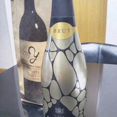 スパークリングワイン/日本酒/フォロー大歓迎/ペット仲間募集/わんこ同好会 一昨日コストコにて購入しました🍶 一緒に…(2枚目)