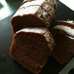 キッズのおやつ/おうちカフェ/しっとりケーキ/jewelscafe/いつも有難うございます♡/ホームメイド/... バレンタイン前て事で💕 cocoacak…