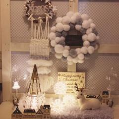 ハンドメイド/クリスマス/羊毛フェルト