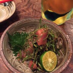 沖縄/島野菜 二ガナは独特の苦味がある島野菜。沖縄では…