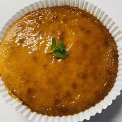 「coopのチーズケーキの素で作りました😋」(1枚目)
