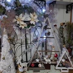 羊毛/工作材料/クリスマスツリーハンドメイド/クリスマス2019/ダイソー/セリア/... 我が家のクリスマスのディスプレイが完成し…