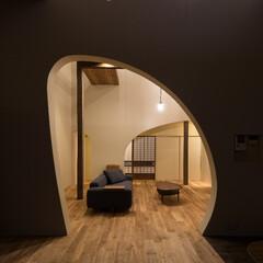 リノベーション/リビング/木造/一戸建て/照明/住まい/... 築60年、木造2階建てのリノベーション