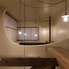 リノベーション/吹抜/木造/障子/住まい/照明/... 築60年、木造2階建てのリノベーション