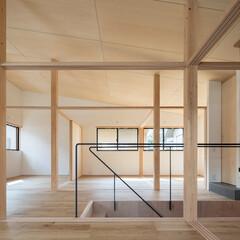 木造/2階/寝室/部屋/間取り/不動産・住宅/... シンプルな矩形を活かしたローコスト住宅