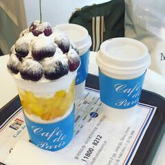パフェ/Cafe de paris/韓国/グルメ/フード/スイーツ 韓国旅行で美味しかったこの Cafe d…