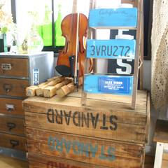 木箱/ヴィンテージ/アンティーク/CHEERS CHEERSさんで購入したヴィンテージの…