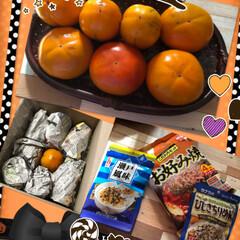 素敵便📦/リミ友さんから 柿狂いの(笑)私に、2種類の甘柿届きまし…