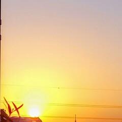 空/風景/朝日 🌋🌴🌊🌺🌈🍃🌸🐝🌸🍃  ٩(๑´0`๑)…(1枚目)