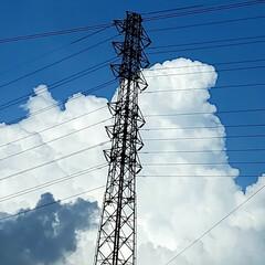 風景/空 🌺🍹🐊🍉🌴🌻🌴🍍  🌴🦩今日は雲が多いで…(1枚目)
