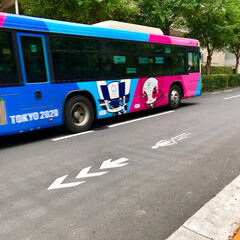 PRバス/東京2020オリンピック 🌈🌴🦚🌺🍂🍁🌾🍄٩(*´︶`*)۶おはよ…