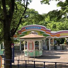 豊島園 🌈🦚🌻🌴💫  静かな🎪🎡🎢🎠🎪•*¨*•…