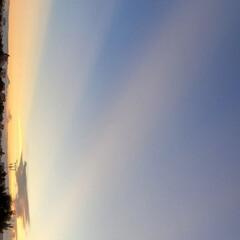 空/風景/夕やけ 🌺🍹🐊🍉🌴🌻🌴🍍横見で🙇♀️💦  🌴🦩…(1枚目)