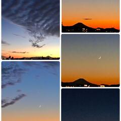 月/風景 🌈🌴🦚🌺🍂🍁🌾🍄  ⭐️✨💫夕やけ〜☽︎…