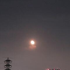 風景/空/月 🌈🌺🐢💃🌴🌻🌴🍍  こんばんは(*^▽^…(2枚目)