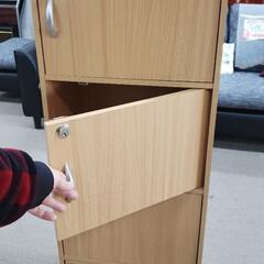 整理/収納/扉/棚/家具/平田家具店/... こちらは最近、新入荷した組立家具。 扉が…