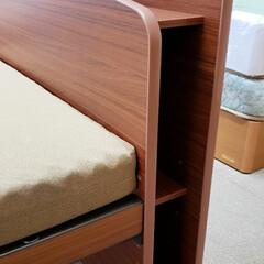 家具選び/ベット/ベッド/家具/平田家具店/ひらた家具店 これはベッドの頭部分の側面の写真なんです…