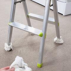 ひらた家具店/平田家具店/脚立/フローリング/傷/傷防止/... 脚立をフローリングの上で使う時、床に傷が…