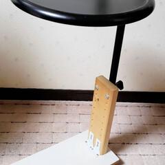 廃材/サイドテーブル/手作り/DIY/ひらた家具店 店長の自室にあるサイドテーブル。  これ…