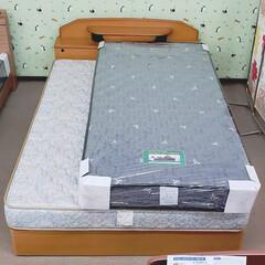 ダブルベッド/シングルベッド/マットレス/ベッド/家具/平田家具店/... これ、ダブルベッドの上にシングルベッドの…