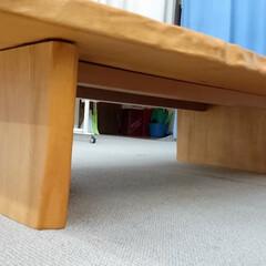 ひらた家具店/平田家具店/家具/テーブル/板/天板/... この写真はテーブルをちょっとしたから写し…