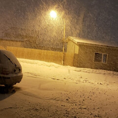 吹雪/雪/冬/ひらた家具店 最近、冬のピークは過ぎたかな~とか言って…