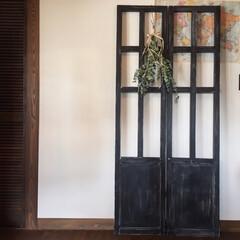 Instagram▷kinari..../ウッドワーク/木工/衝立/パーテーション/手作り家具/... こども部屋のパーテーション作りました。(1枚目)