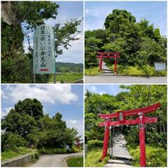 弁天山/日本一低い山/プチおでかけ 徳島には日本一低い山があります🎵 頂上ま…