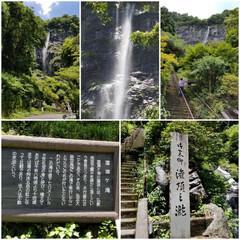 徳島/滝/おでかけ 大川原高原に向かう途中に滝が 目の前に👀…