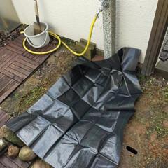 立水栓/ヤード/ベランダ/DIY/レトロ/男前/... 【浸透マス風排水】 ※ヤードの立水栓排水(3枚目)