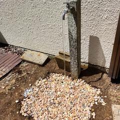 立水栓/ヤード/ベランダ/DIY/レトロ/男前/... 【浸透マス風排水】 ※ヤードの立水栓排水(8枚目)