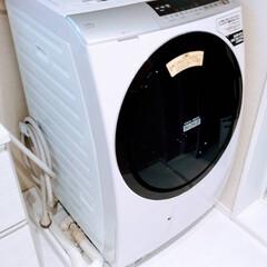 防水パンカバー/洗濯パンカバー/防水パンカバーDIY/防水パン/洗濯機パン/掃除/... 洗濯機パンカバーを作りました。 埃が溜ま…(2枚目)