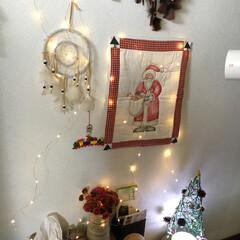 クリスマスバージョン/サロン/ハンドメイド サロンをクリスマスバージョンにしました。…