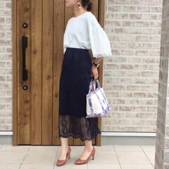 レーススカート/チュールスリーブ/ママコーデ/ファッション LIPSTAR  さんのチュールスリーブ…