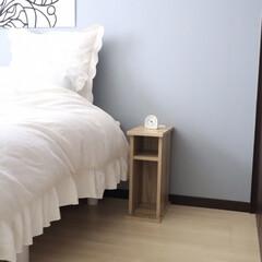 ベッドルームインテリア/ベッドルーム/寝室インテリア/寝室/横幅20cm/ナイトテーブル/... ご覧頂きありがとうございます。 ベッドの…