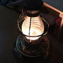 ニッセン/暖かい/ウインター/ストーブ/ランプ ニッセンのランプストーブ今冬初点火です。…