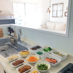 キッチン/作り置き/つくりおき/おうちごはん/グルメ/フード つくりおき。朝ごはんやお弁当作りに役立つ…(1枚目)