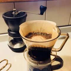 目覚め/アロマ/挽きたて/モーニングコーヒー おはようございます^ - ^ 挽きたての…