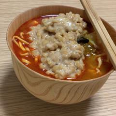マツコの知らない世界/食べやすい/おうちごはんクラブ/フード 【蒙古タンメンのカップ麺+納豆】 マツコ…